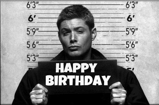 Сверхъестественное поздравления с днем рождения